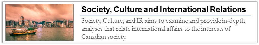 Society Culture and International Relations