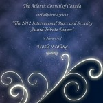 Tribute Dinner Flyer and Booklet Cover Page