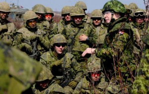 how to join the canadian reserves army