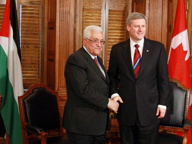 Palestinian President Abbas Meets With Canadian Foreign Minister