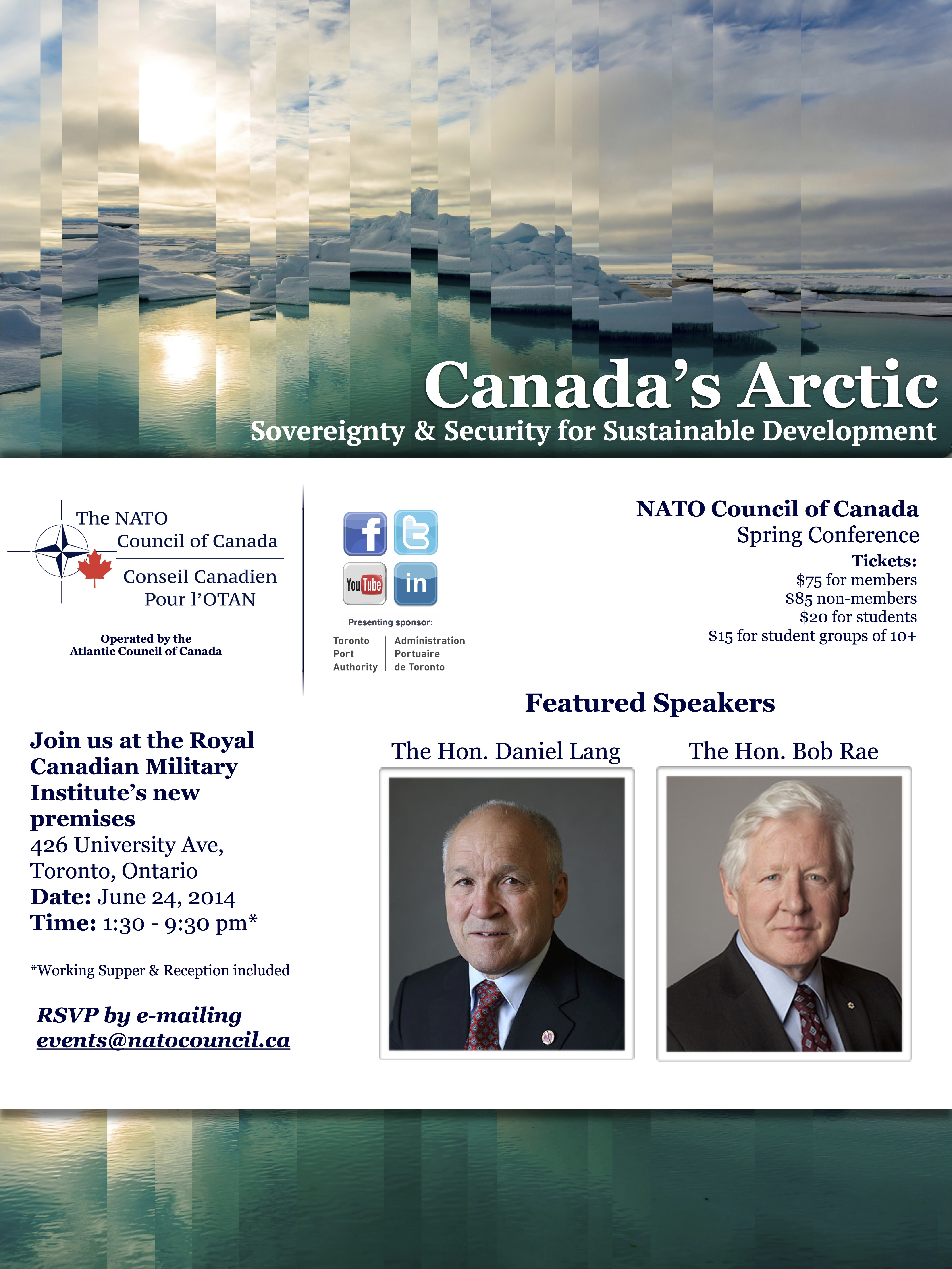Arctic Conference Flyer