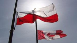 Poland Canada Flag