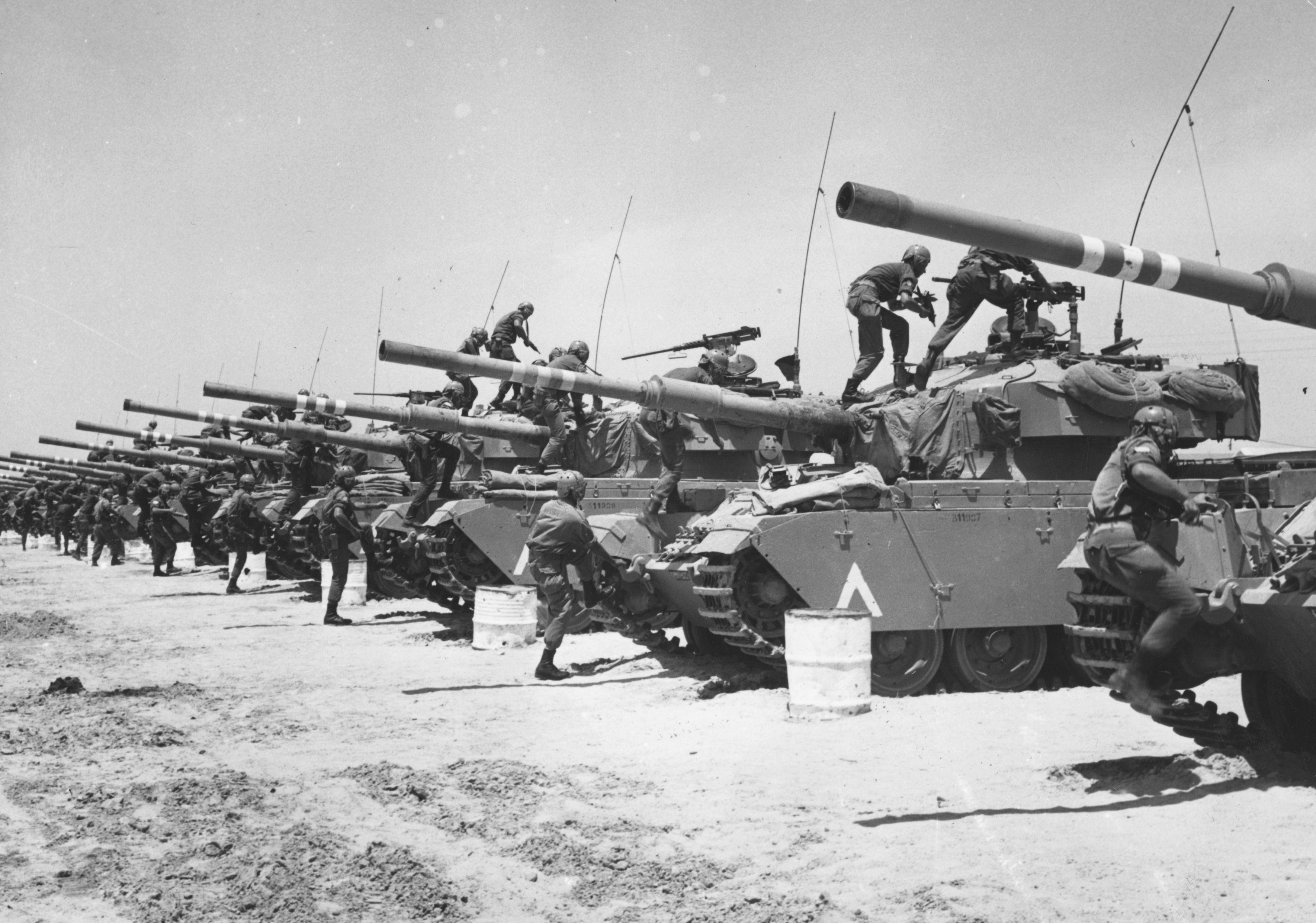 Israeli Tanks