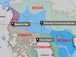 Arctic borders