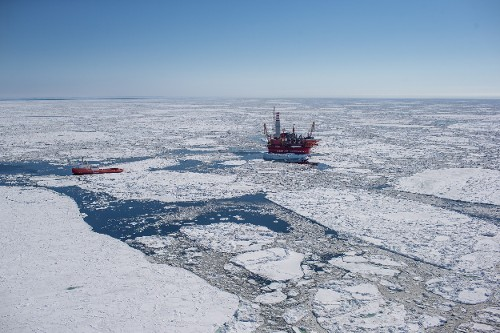 Arctic Oil Platform