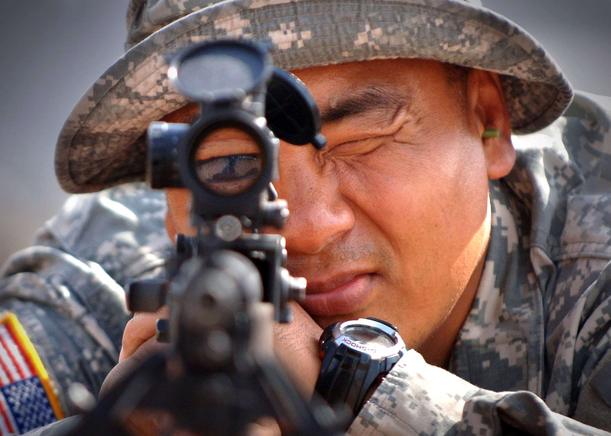 5th PSC Shotgun and M14 Rifle Shoot