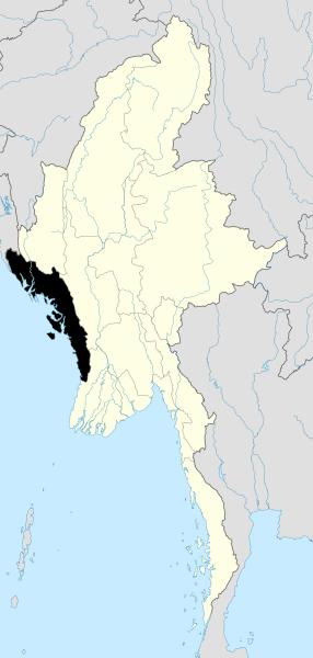 Burma_Rakhine_locator_map