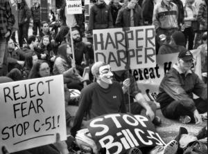 Protesting Bill C-51