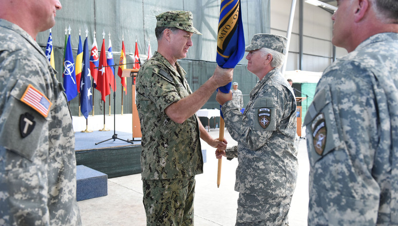 NATO HQ Sarajevo makes history with first female commander