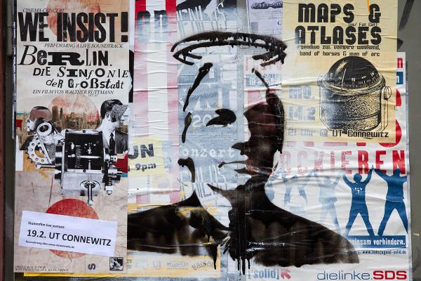 Julian Assange Stencil, Wikileaks, Nimbus
