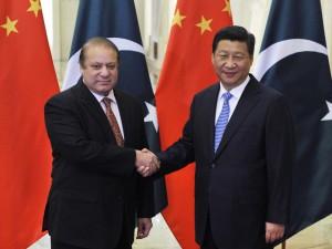 Sharif handshake