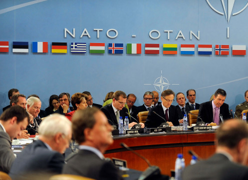 Defense.gov_News_Photo_100609-F-6655M-003_-_Secretary_General_of_the_North_Atlantic_Treaty_Organization_Anders_Fogh_Rasmussen_left_welcomes_Defense_Ministers_to_NATO_Headquarters_in_Brussels