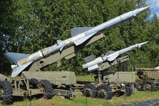 Polish_S-75_Dvina_Surface_to_Air_Missile_(SAM)_system_(11138510965)