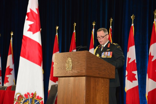 Chief of defence staff Vance-min