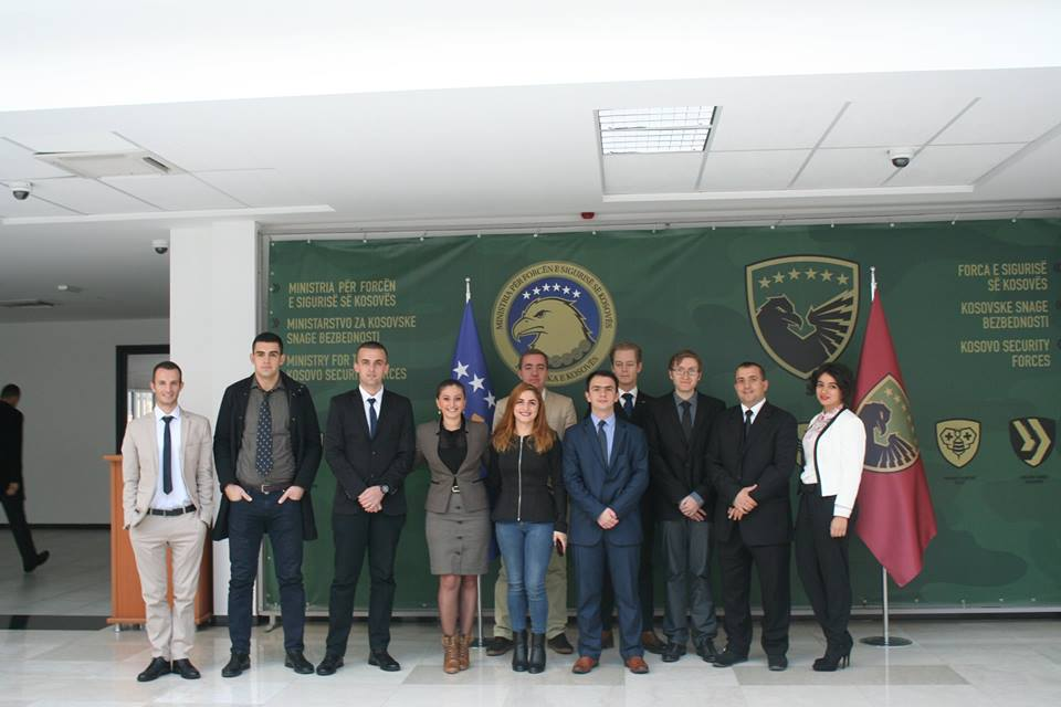 Fig. 4. Conference delegates at Kosovo Security Forces HQ