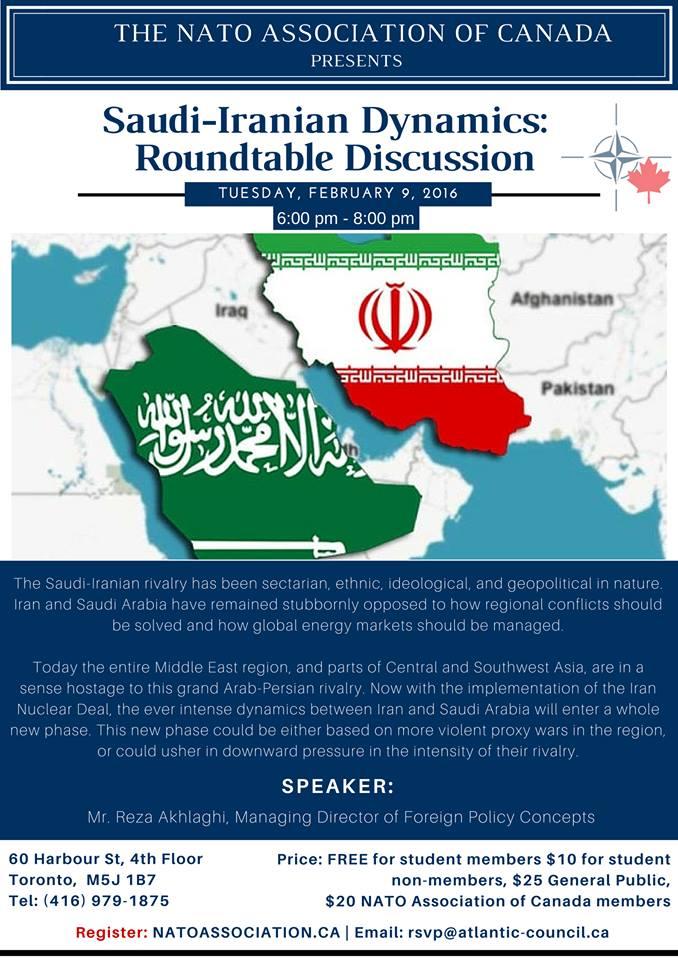 Saudi-Iranian Dynamics: Roundtable Discussion – NAOC