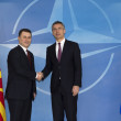 NATO Secretary General Jens Stoltenberg meets with the Prime Minister of the Former Yugoslav Republic of Macedonia¹, Nikola Gruevski