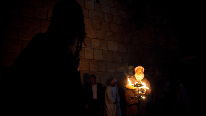 Yazidis in Lalish