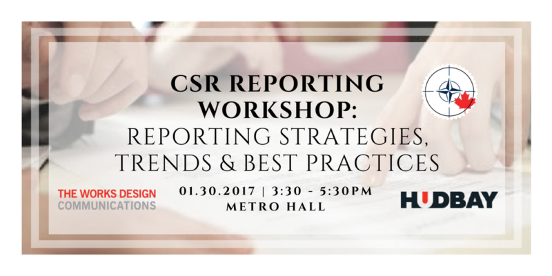 Csr reporting workshop reporting strategies trends for Consul best practices