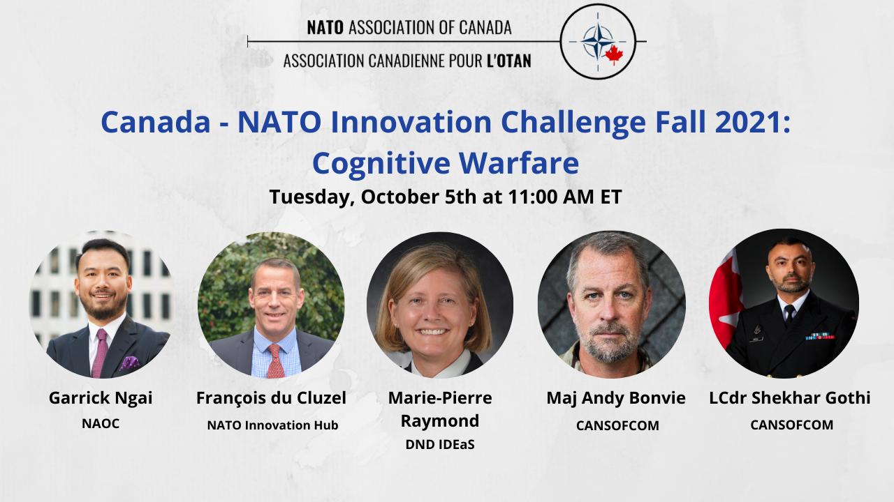 Canada – NATO Innovation Challenge 2021 Cognitive Warfare